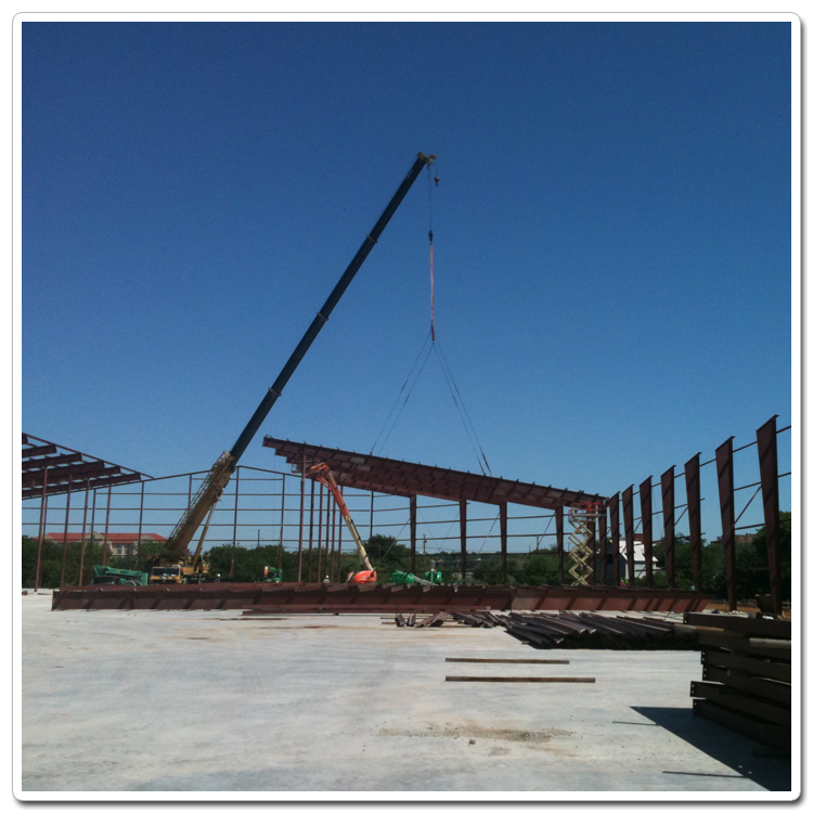 Erecting Steel